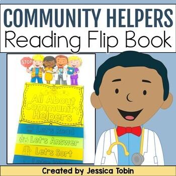 Community Helpers Flip Book