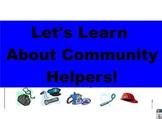 Community Helpers Flip Chart