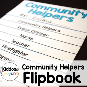 Community Helpers/Occupations Flipbook