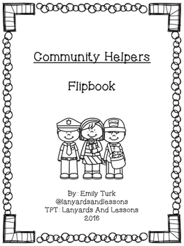 Community Helpers Flipbook