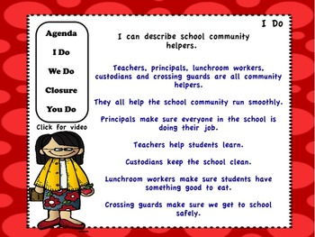 Community Helpers: Flipchart and Worksheets
