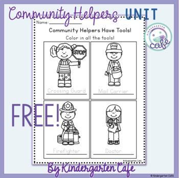 Community Helpers Freebie 1