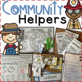 Community Helpers Galore:  Language Arts, Writing, & Math