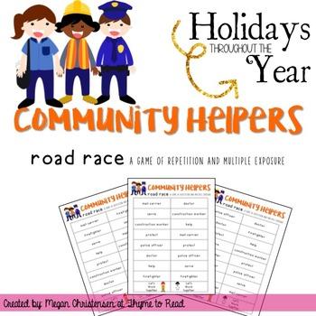 Community Helpers Game