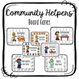 Community Helpers {Board Games}