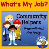 Community Helpers Game - What's My Job