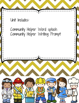 Community Helpers - Goods and Services