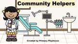 Community Helpers Google Slides Lesson