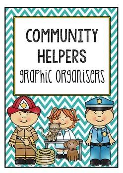 Community Helpers Graphic Organisers