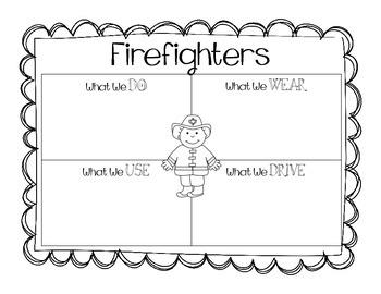 Community Helpers - Graphic Organizers