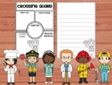 Community Helpers Graphic Organizers and Writing Papers - Set 1
