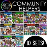 Community Helpers Bundle {Creative Clips Digital Clipart}
