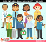 Community Helpers Clipart
