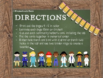 Community Helpers - Includes WH questions