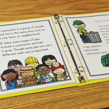 Community Helpers Posters|Writing|Assessment