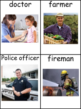 Community Helpers Informational Text and Writing Activity