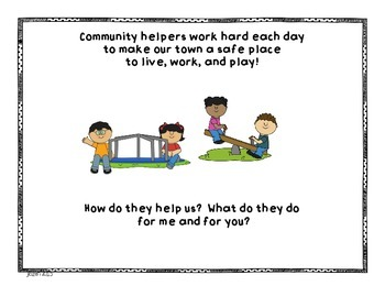 Community Helpers Integrated Unit
