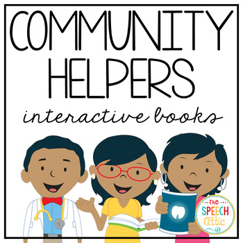 Community Helper WH Questions Bundle
