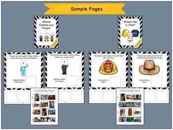 Community Helpers: Interactive Book Bundle