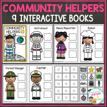Community Helpers Interactive Book Bundle 2