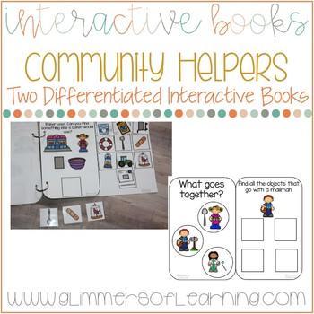 Community Helpers Interactive Book: Categories