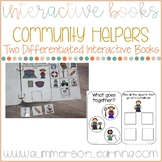 Community Helpers Interactive Book: Categories