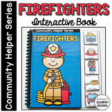 NEW! Community Helpers Interactive Book - Firefighters