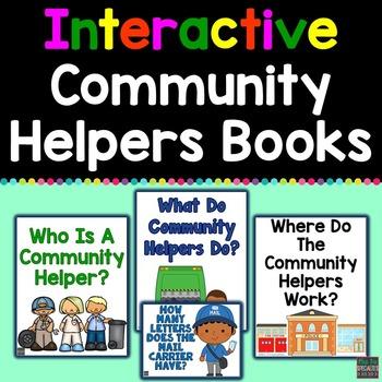 Community Helpers Interactive Books
