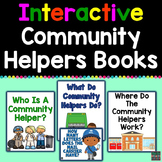 Community Helpers Interactive Books (Adapted Books For Special Education)