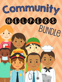 Community Helpers Interactive Comprehension Book Bundle