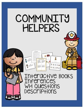 Community Helpers-Interactive Stories, Inferences, Questions
