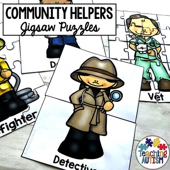 Community Helpers Jigsaws