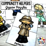 Community Helpers Jigsaw Puzzles