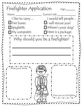 Community Helpers Job Applications