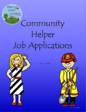 Community Helpers Job Applications
