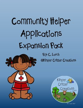 Community Helpers Job Applications Expansion Pack
