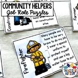 Community Helpers Job Role Matching Jigsaws