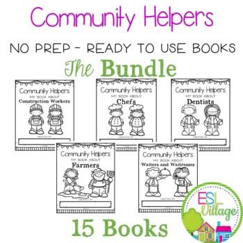 Community Helpers / Jobs {Booklets  / BUNDLE}
