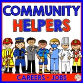 Community Helpers - Jobs (Police officer - Dentist - Teach
