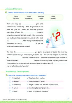 Community Helpers - Jobs and Careers - Grade 5