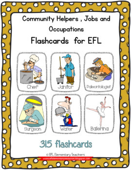 Community Helpers, Jobs and Occupations Flashcards
