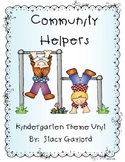 Community Helpers Kindergarten Unit