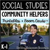 Community Helpers - Kindergarten and 1st Social Studies