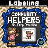 Community Helpers - Labeling (NO PREP)