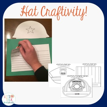 Community Helpers-A Speech Therapy Language Packet