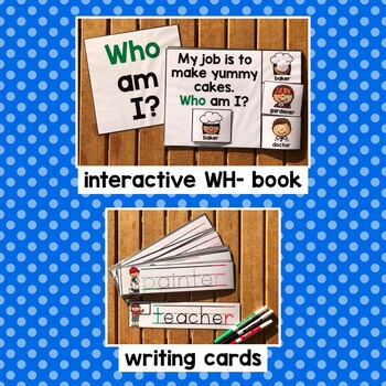 Community Helpers Language/Literacy Activities for Preschool & Special Education