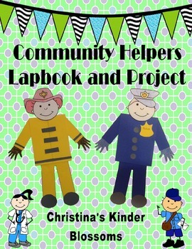 Community Helpers Lapbook and Project