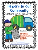 Community Helpers Lift the Flip Activity! Great for Young Students