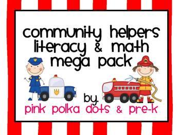 Community Helpers Literacy & Math MEGA Pack