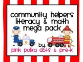 Community Helpers Literacy & Math MEGA Pack